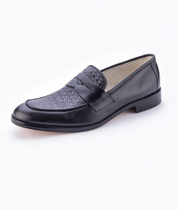 Horseman Chairman Moccasin- Black