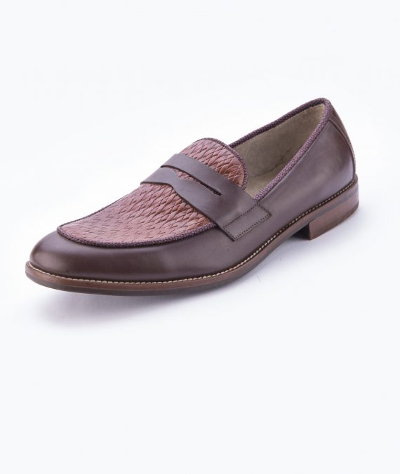 Horseman Chairman Moccasin- Brown